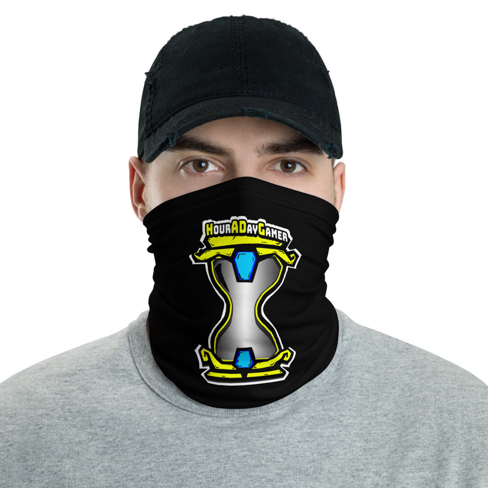 s-had FACE MASK/ NECK GAITER BLACK