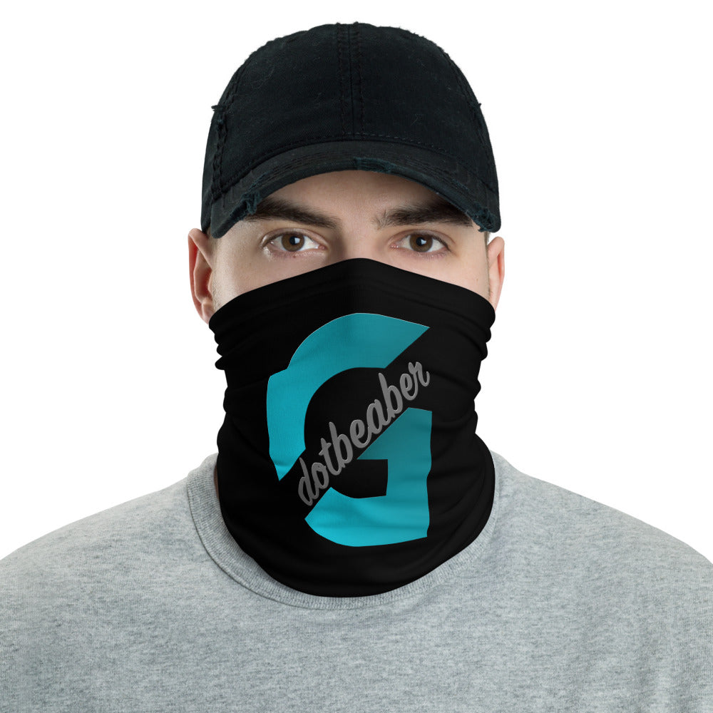 s-gd FACE MASK/ NECK GAITER BLACK