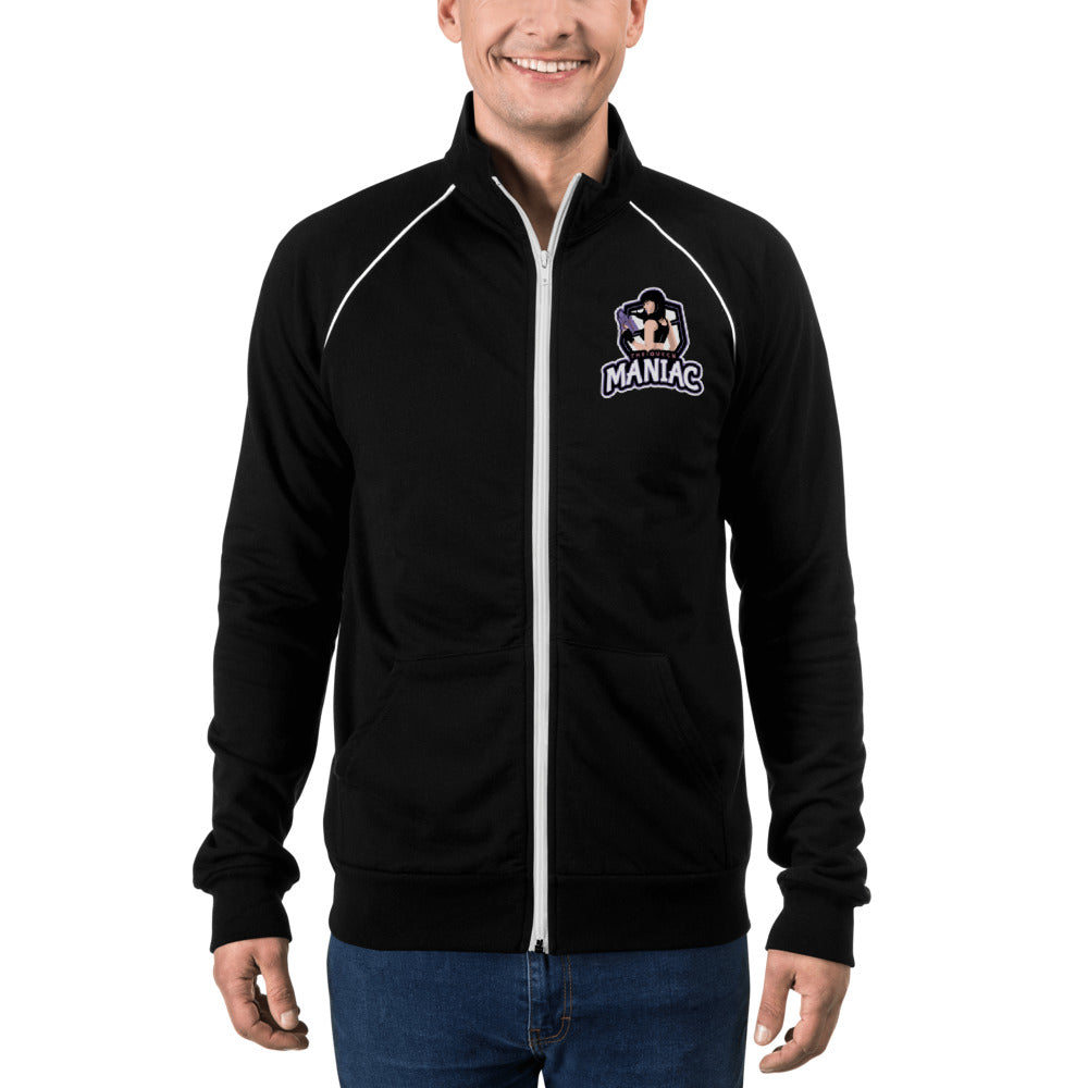 s-tqm PIPED FLEECE JACKET