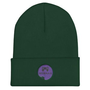 s-a62 EMBROIDERED BEANIE