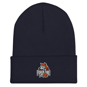 s-ff EMBROIDERED BEANIE