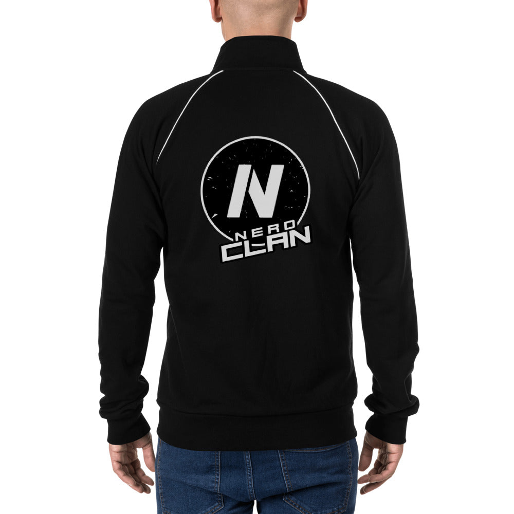 s-nc PIPED FLEECE JACKET