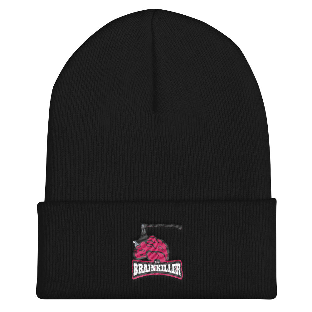 s-bk EMBROIDERED BEANIE