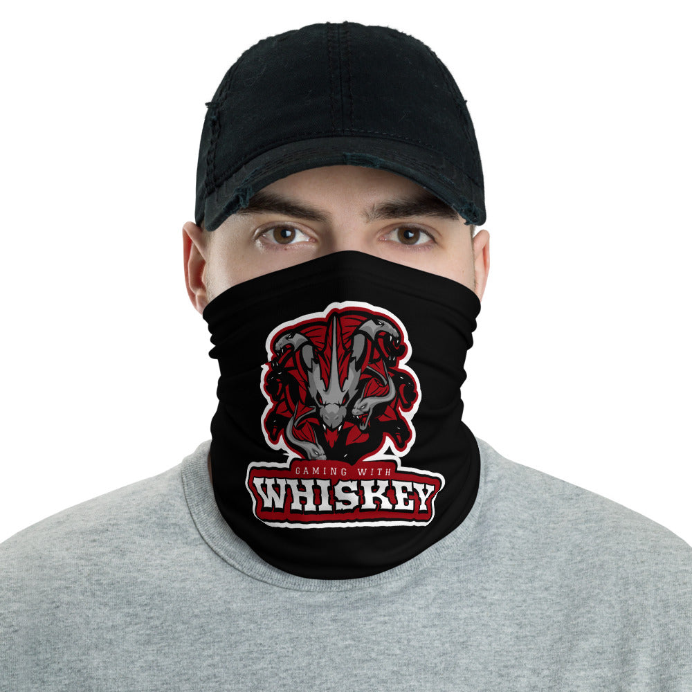 s-gw FACE MASK/ NECK GAITER BLACK