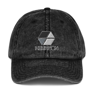 s-hex EMBROIDERED VINTAGE CAP
