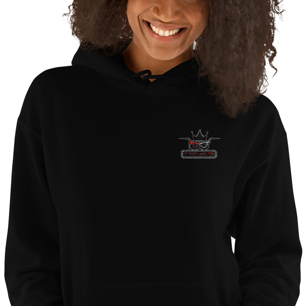"s-kq EMBROIDERED HOODIE 50% OFF!!!  ........ (Use code ""STITCH"" at checkout Jan 14th-19th)"