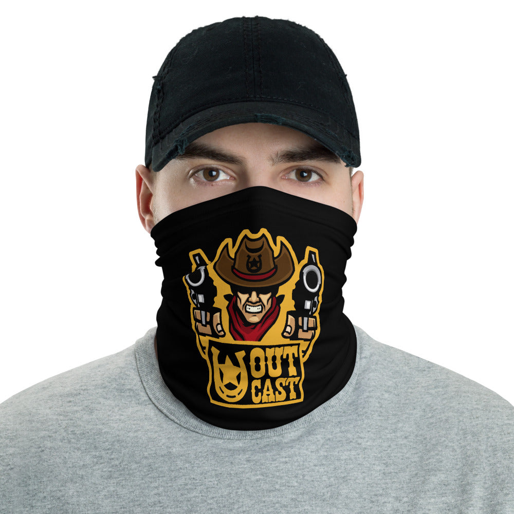 s-oc FACE MASK/ NECK GAITER BLACK