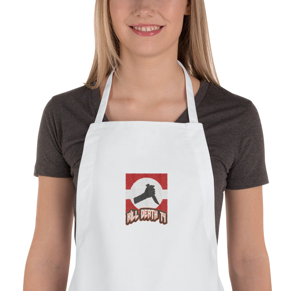 s-kd EMBROIDERED APRON