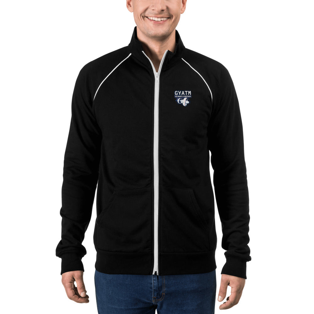 t-ii PIPED FLEECE JACKET
