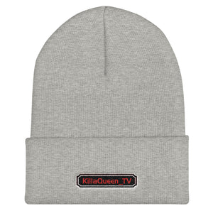 s-kq EMBROIDERED BEANIE