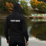 t-nor HOODIE WITH NAME ON BACK!!