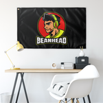 bean WALL FLAG HORIZONTAL