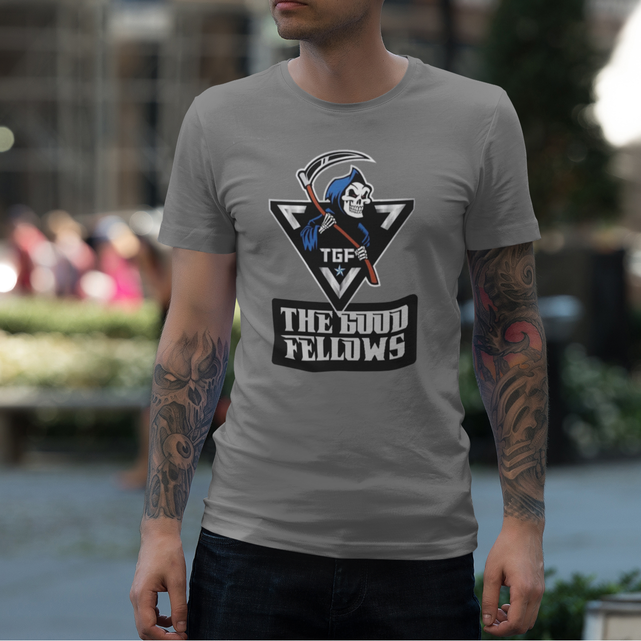 t-tgf ADULT T SHIRT
