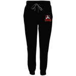 s-tqt EMBROIDERED FLEECE JOGGER PANTS