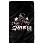 swi WALL FLAG VERTICAL
