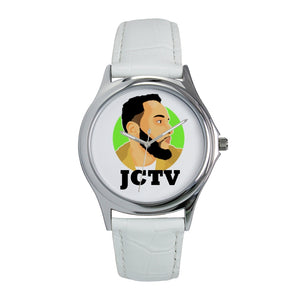 S-JC Sm Wht Watch