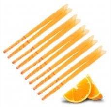 10x Orange Ear Candles, Protector Disc & Leaflet