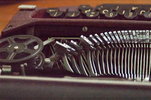 Time Enough At Last: Reviving an Heirloom Typewriter