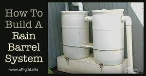 Perfect Concept Rain Barrel System