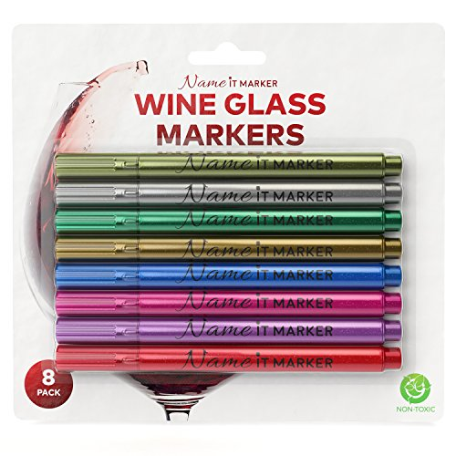 20 Best Wine Glass Markers