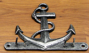 Anchor Key Hook Cast Iron