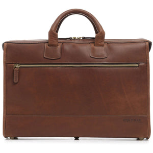 Korchmar Legacy Sawyer Slim Leather Laptop Briefcase