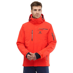 Salomon - Brilliant Jacket, Cherry Tomato