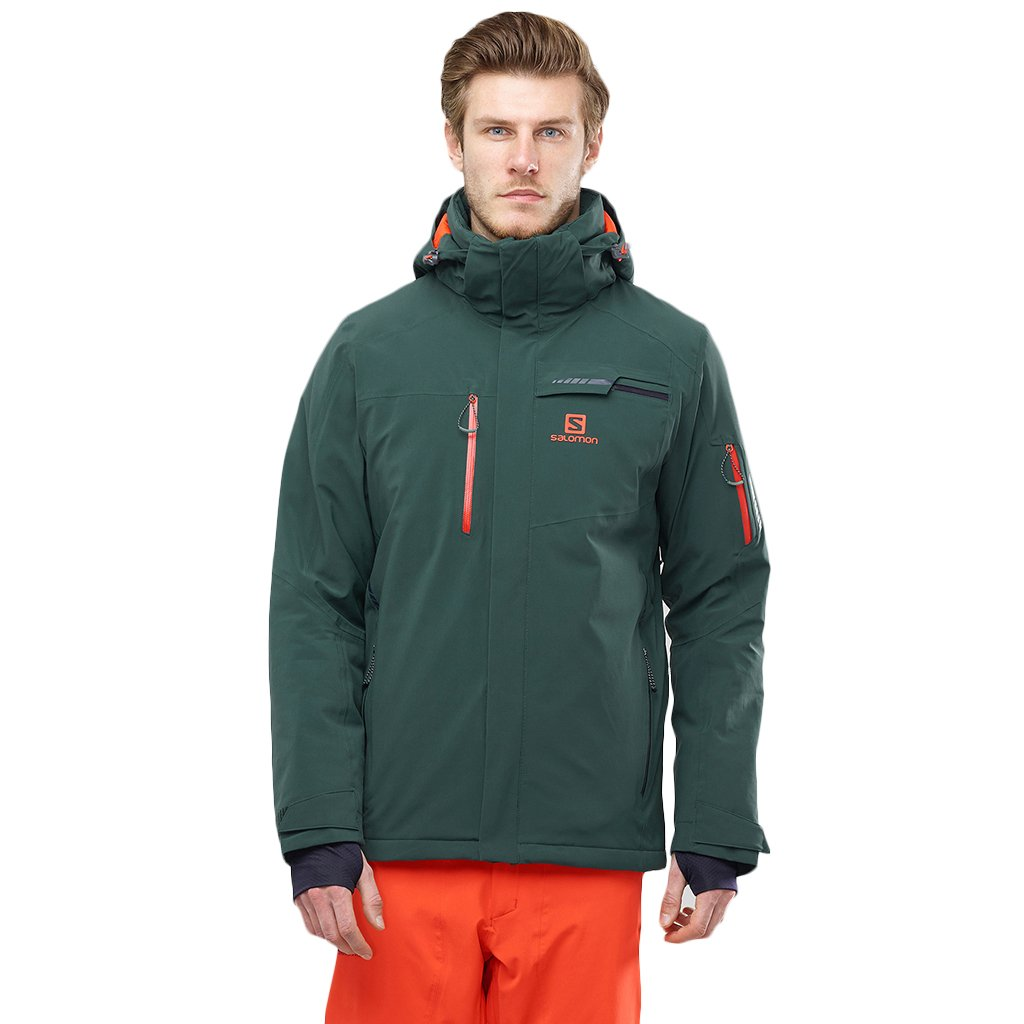 Salomon - Brilliant Jacket, Green Gables
