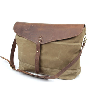 Workers Supply Postman Messenger Bag in Sage