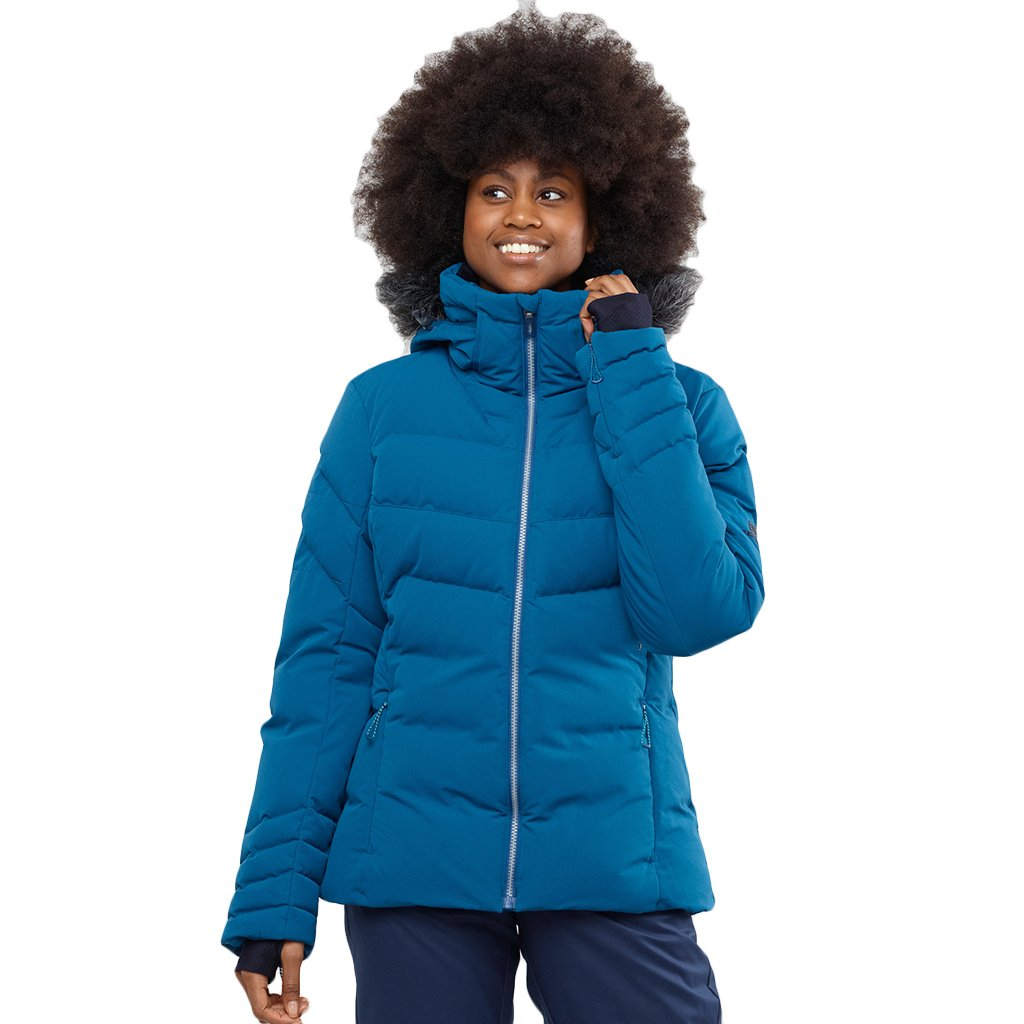 Salomon - Women's Icetown Jacket, Poseidon