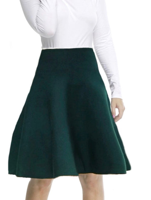 MM Hunter Green Skirt (all year round material)
