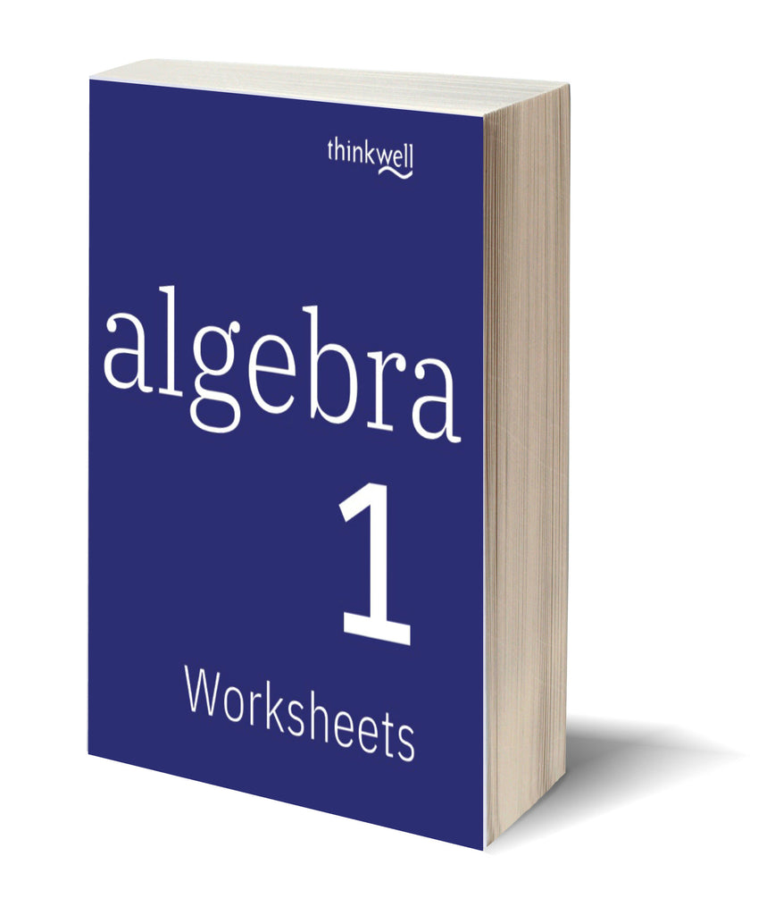 Algebra 1 Worksheets and Answer Keys