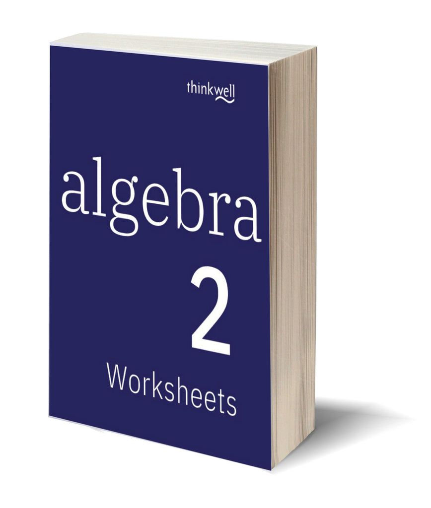 Algebra 2 Worksheets and Answer Keys