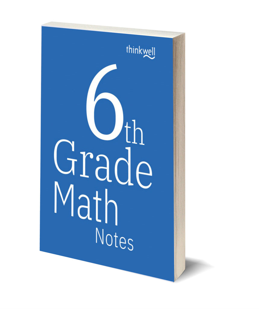 6th Grade Math Printed Notes