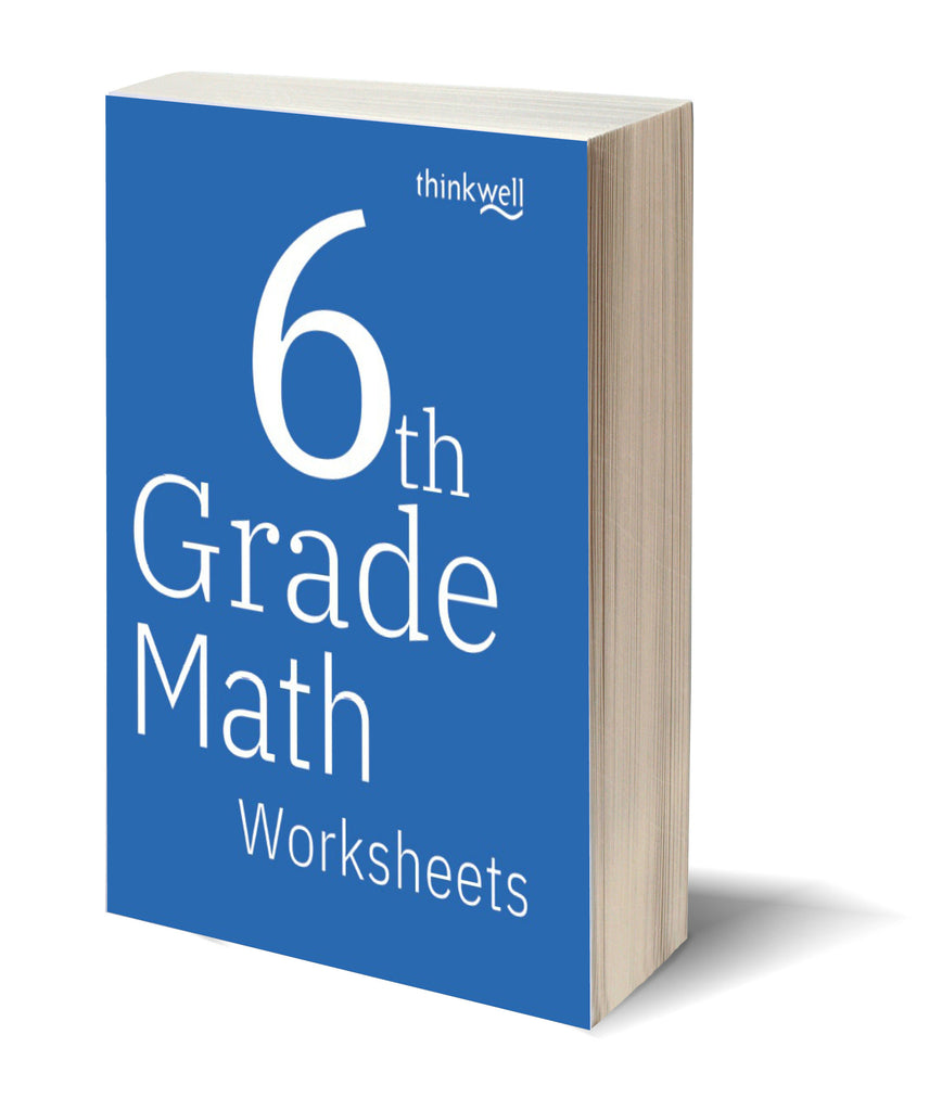 6th Grade Math Worksheets and Answer Keys