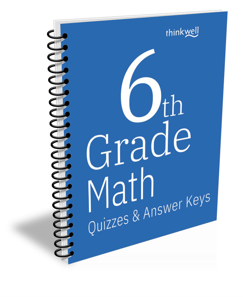 6th Grade Math Quizzes and Answer Keys