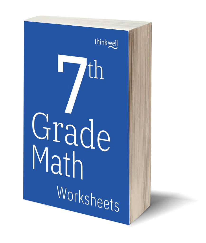 7th Grade Math Worksheets and Answer Keys