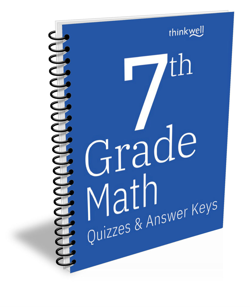 7th Grade Math Quizzes and Answer Keys