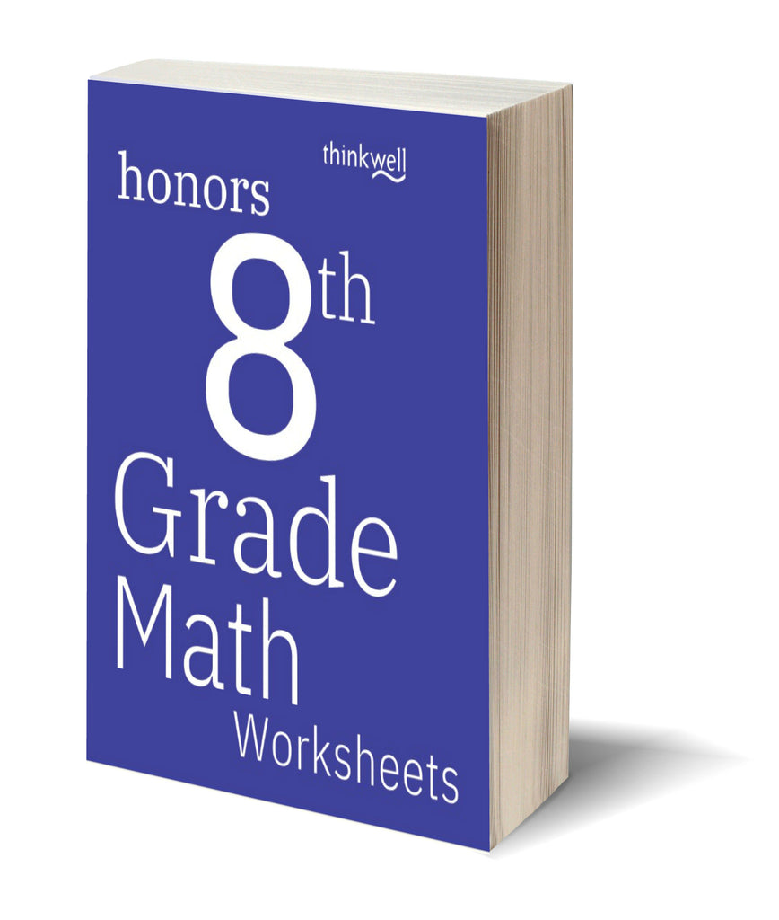 Honors 8th Grade Math Worksheets and Answer Keys