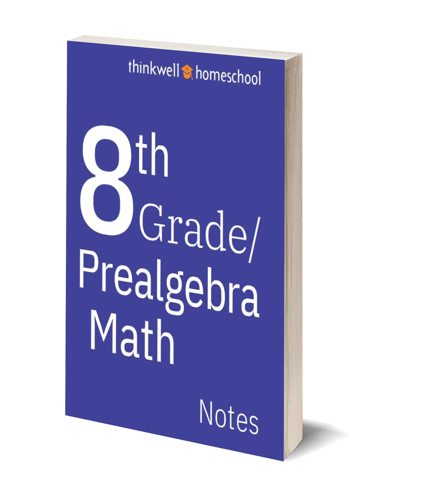 8th Grade Math Printed Notes