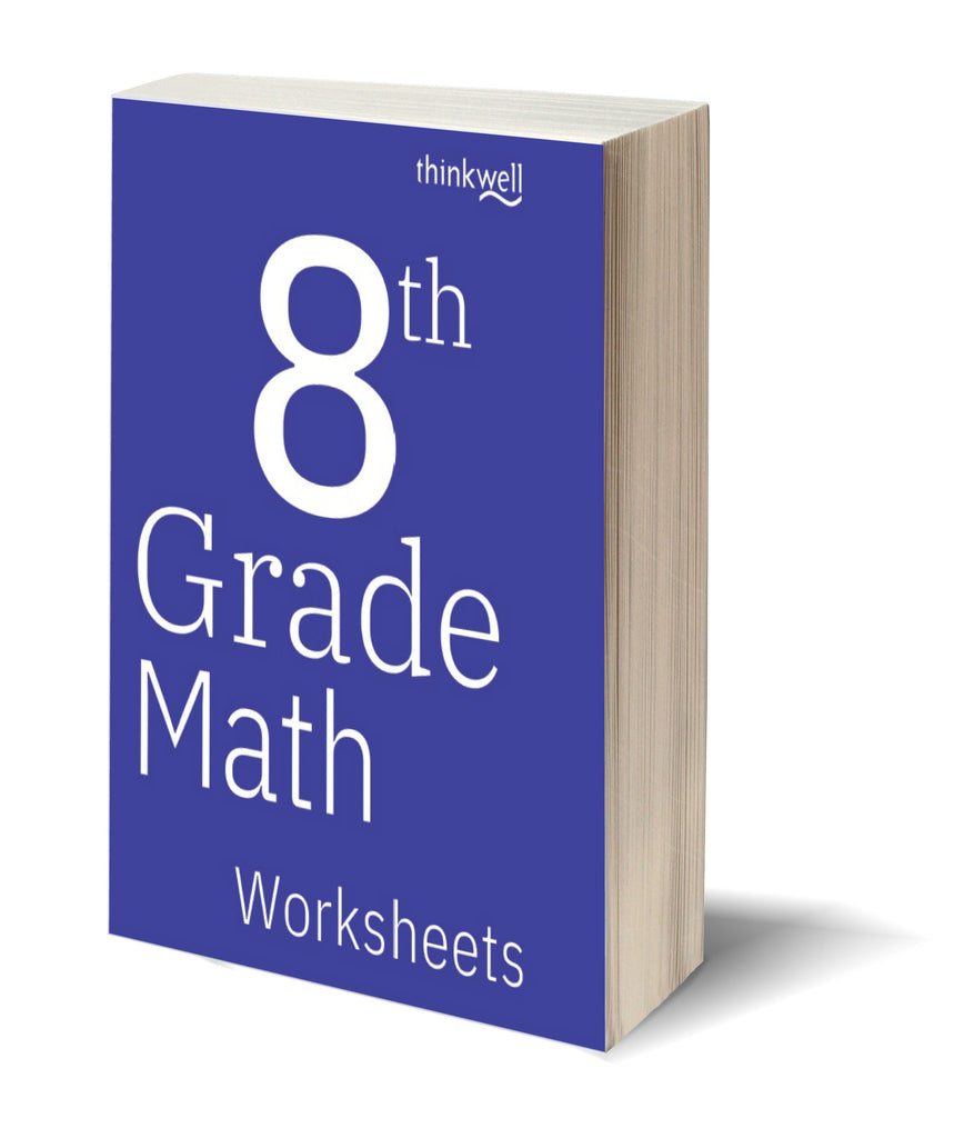 8th Grade Math Worksheets and Answer Keys