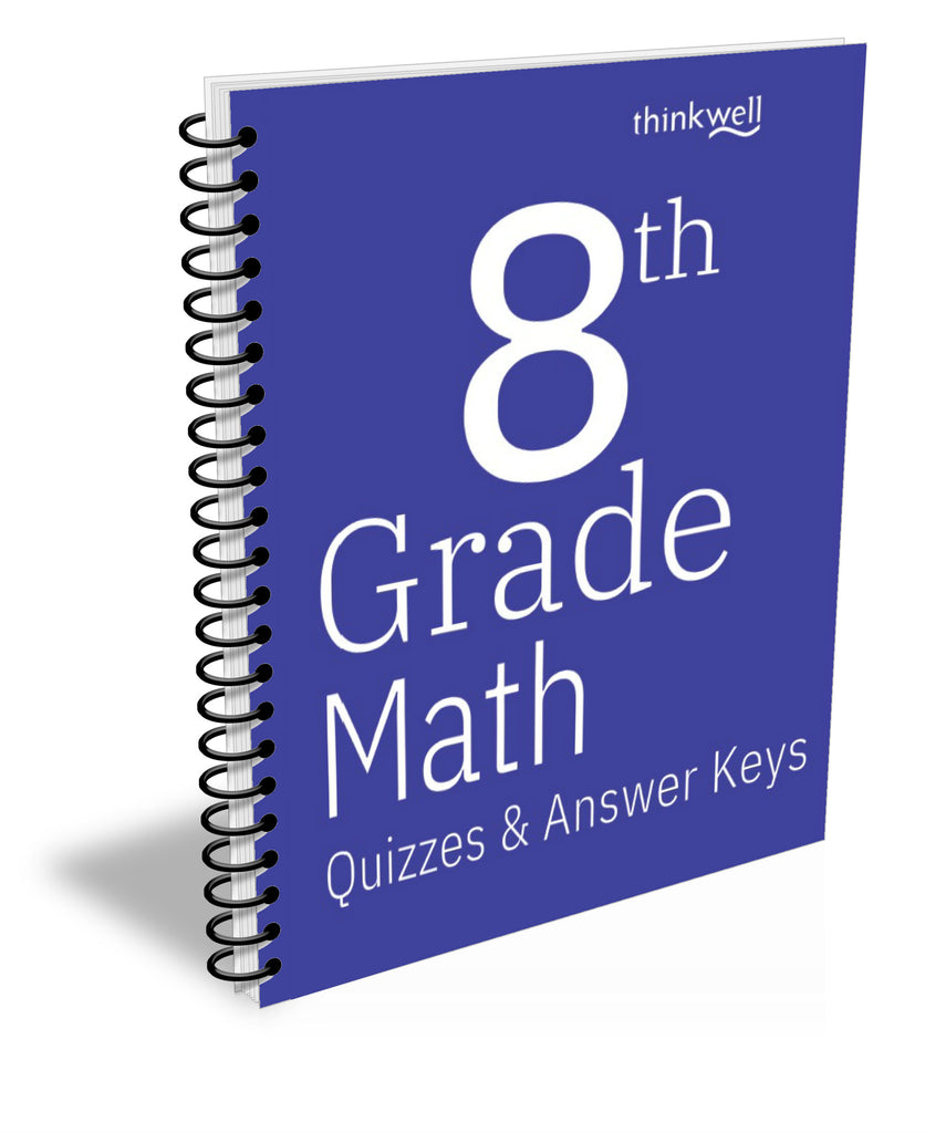 8th Grade Math Quizzes and Answer Keys