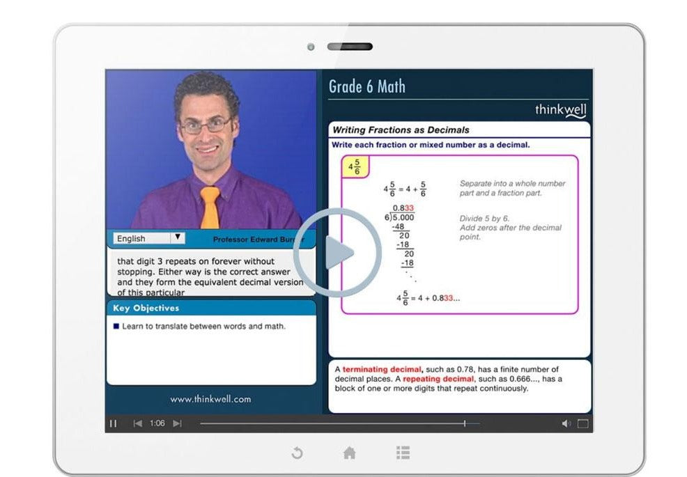 6th Grade Math Essentials