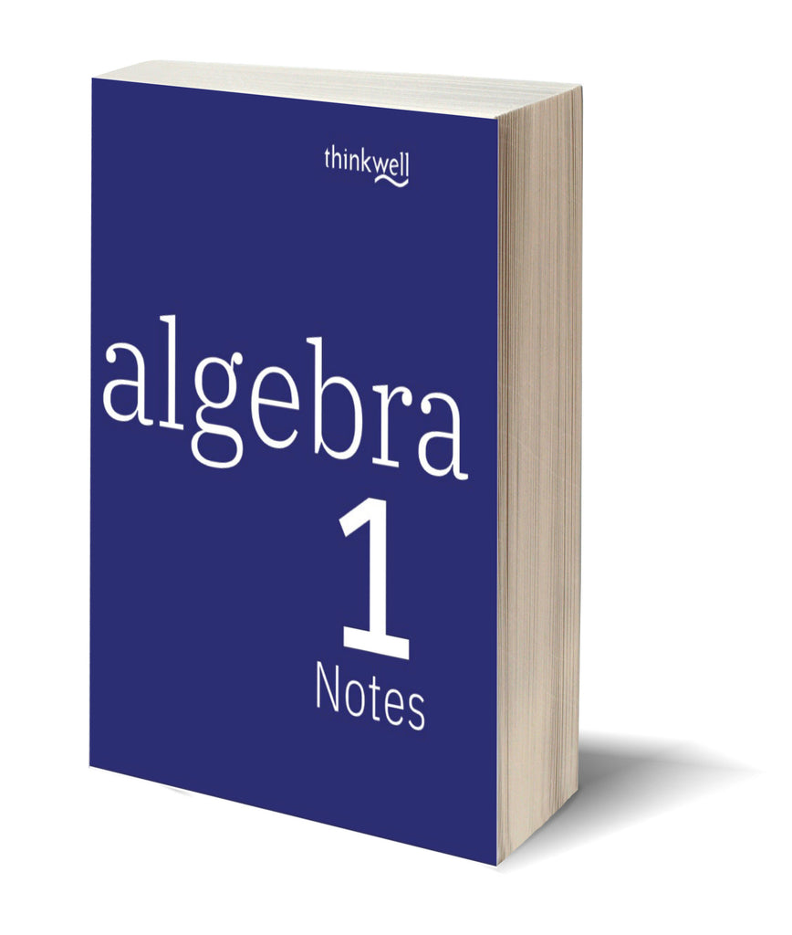 Algebra 1 Printed Notes