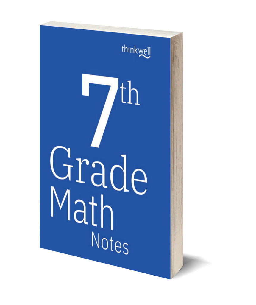7th Grade Math Printed Notes