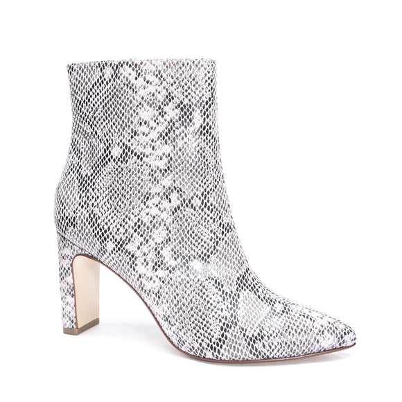 Erin Snake Print Ankle Bootie