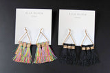 Tassels and Triangle Earrings