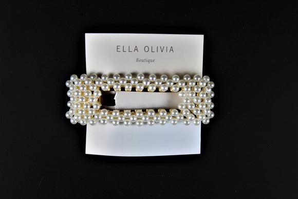 Rectangular Pearl Hair Pin