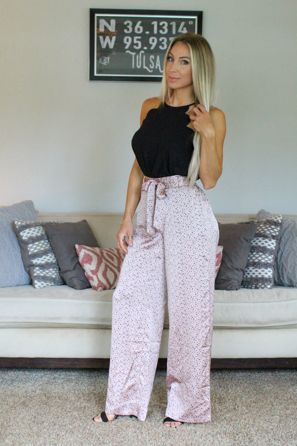Lucy Pairs Elliot Dot Pant