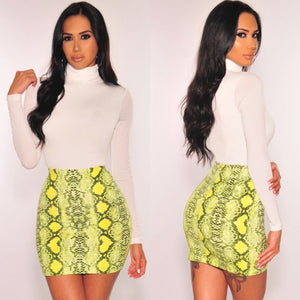 Bri Mini Skirt (Yellow)